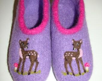 """Children felt boots """"small deer"""""""