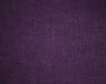 "Deep Purple Cotton Gauze Fabric 52"" Wide 15 Yards Wholesale"