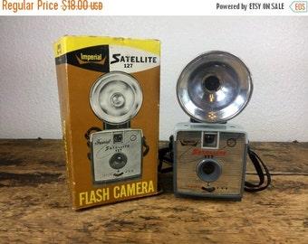 ON SALE Vintage Imperial Satellite 127 Camera with Original Box