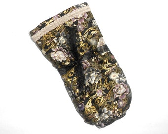 Pampered Hands Microwavable Warming Herbal Mitts filled with Flaxseed and Lavender