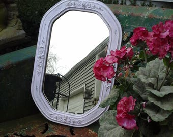 Lovely lavender vintage mirror