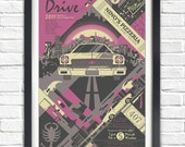 Drive - 2011 - 19x13 Poster