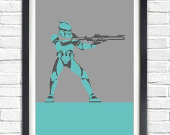 Star Wars - CLONE TROOPER - 19x13 Poster