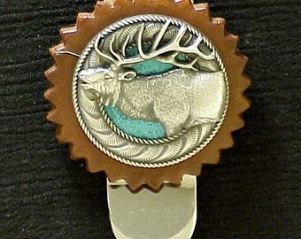 Money Clip Elk Head
