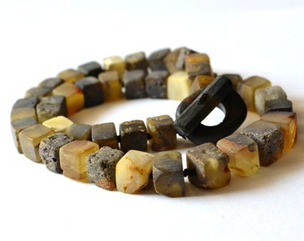 Natural Baltic Amber Necklace, Amber Jewelry