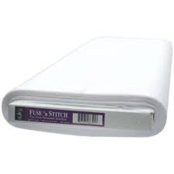 "Sulky Fuse n' Stitch Cut-Away Permanent Stabilizer -  24"" Wide. Sold by the YARD"