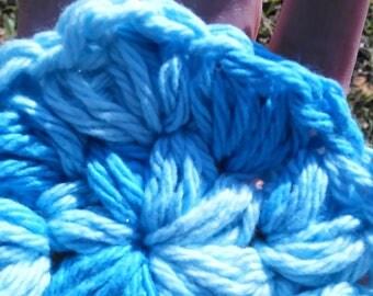 Crochet Cotton Puffy Scrubbies