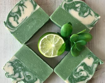 Patchouli Lime- Natural Gourmet Soap