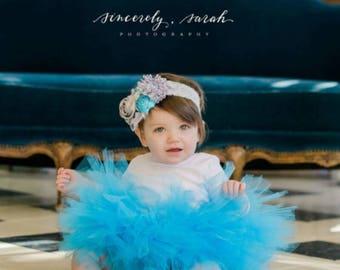 Baby Blue Tutu Skirt