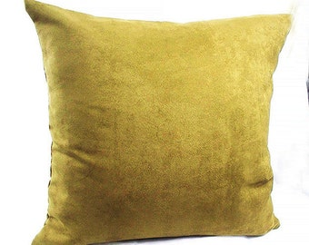 Olive green pillow, Olive green throw pillows, Olive green cushion covers, bed  shams pillow cases couch decorative cushions