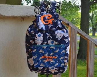 Ocean and Space Backpack