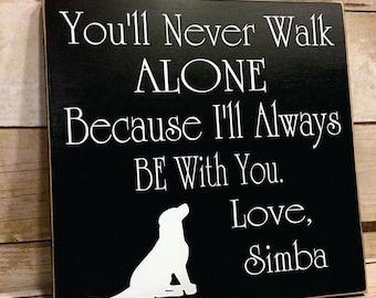 Personalized Dog Sign, Dog Sign, Dog Lover Gift, Dog Lover, Wooden Dog Sign, Dog Signs For The Home, Wood Dog Sign, Pet Sign