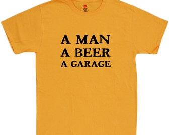 Funny saying shirt for men man cave gifts for him mechanic biker
