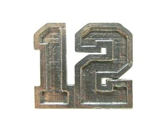 12th Refrigerator Magnet  ~ Refrigerator Magnet ~ A1040M