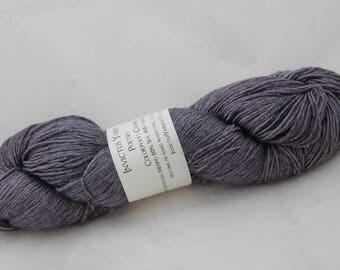 Charred Poetry 50/50 SW merino/silk fingering weight yarn