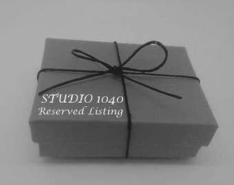 Reserved Listing for Kate M.