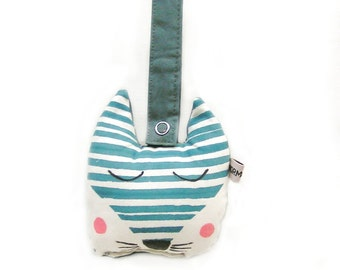 Baby rattle , Crinkle Max blue fox