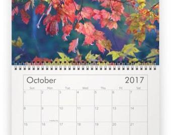 Calendar,Nature Calendar, Nature Photography, Wall Calendar,Bear,Flower, Fox, Mountains,Deer,Fall, SALE