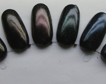 Gemstone Top Coat Set Shimmer Sparkle Effect Nail Lacquer Indie 15mL Starlight Polish