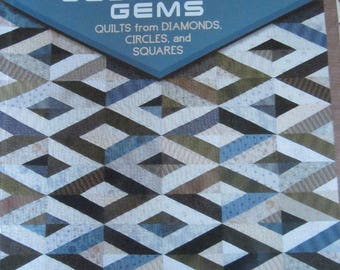 Geometric Gems Quilts from Diamonds, Circles and Squares