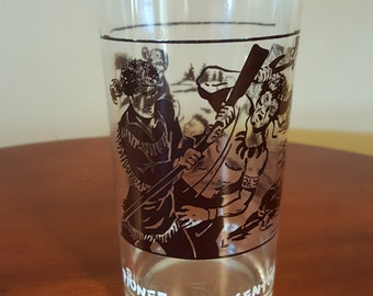 Hazel Atlas Daniel Boone Glass 1960's