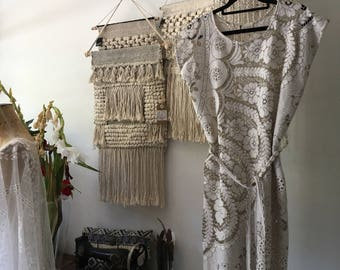 Women's Bohemian Lace Dress.Made to Order.
