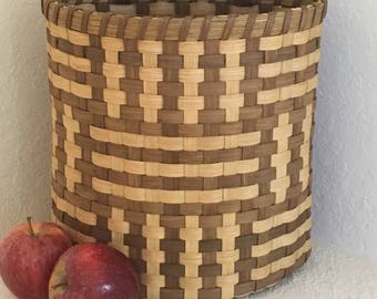 """Basket Weaving **KIT** - """"Zelda"""" Recycled Bag Holder Basket - New Price - Limited Quantity"""