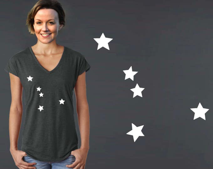 Cancer Constellation | Cancer | Zodiac T-shirt | Cancer Tee | Cancer T-shirt | Zodiac Tee | Custom T-shirts | Korena Loves
