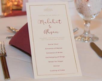 Wedding Invitations | Muslim | Pakistani | Indian