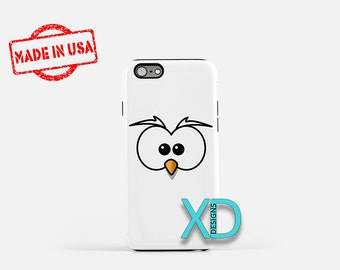 Cartoon Owl iPhone Case, Animal iPhone Case, Cartoon Owl iPhone 8 Case, iPhone 6s Case, iPhone 7 Case, Phone Case, iPhone X Case, SE Case