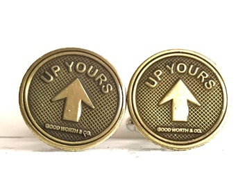 106: Up Yours CuffLinks