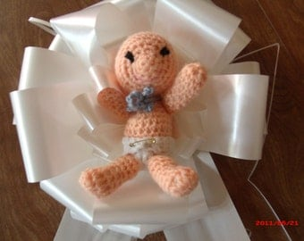 "Little Boy Blue 9""Gift Bow"