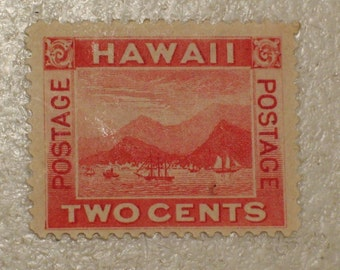 US Possessions 1899 Hawaii Postage StampScott # 81, 2 cents. 19th Century Stamp, MH