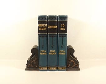 Antique Edna Ferber Novel Set - Copyright 1924 - Amazing Condition - Beautiful Books