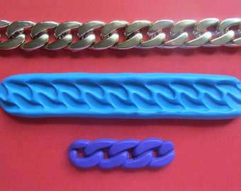 20 mm wide chain silicone mould