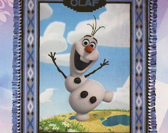 Disney Frozen Olaf No-Sew Fleece Blanket Kit - Springs Creative (48873-216C023)