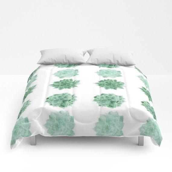 Succulent Comforter Succulent Duvet Cactus Comforter Full