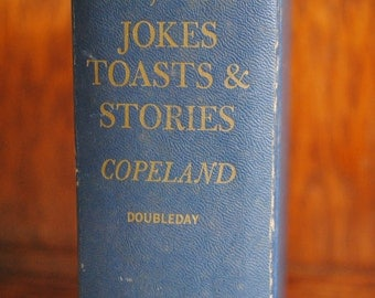 10,000 Jokes Toasts & Stories Hard Cover Book