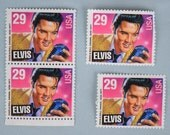 1993 Elvis Stamps Set of  4 Unused 29 Cents US Postage Stamps