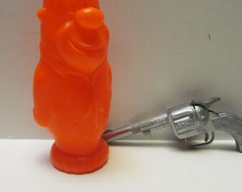 1960s Blow Mold Fred Flintstone Blow Mold toys Vintage Flintstones