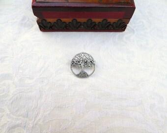 Tree  of Life Pin / Tree of Life Brooch / men's jewelry / women's jewelry / teen jewelry / jewelry /