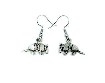 Armadillo Dangle Earrings Handmade Gift