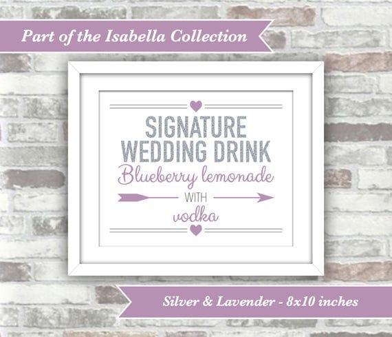 PRINTABLE Digital Files - One Wedding Sign