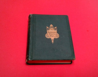 Longfellow's Poetical Works 1871 Rare Very Good Shape