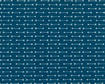 Teal Arrows Fitted Crib Sheet // Fitted Cot Sheet // Cot Sheet // Baby Shower Gift // Baby Gift