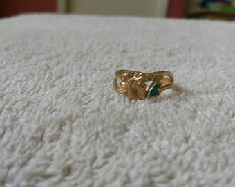 Vintage Ring Horse Head signed SW 87 size 6