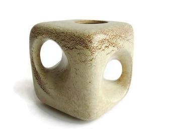 Mid Century Modern Bertoncello ceramic vase 907, Italian pottery
