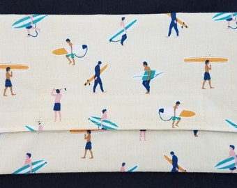 Reusable Snack Bag - Surfers Design