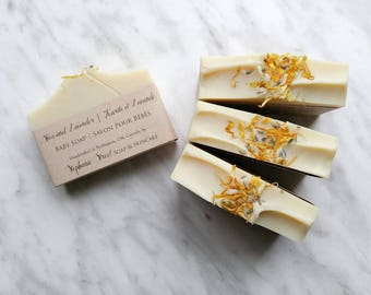 Shea Butter & Lavender Baby Soap, All Natural
