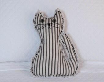 Black pin stripe country Kitty